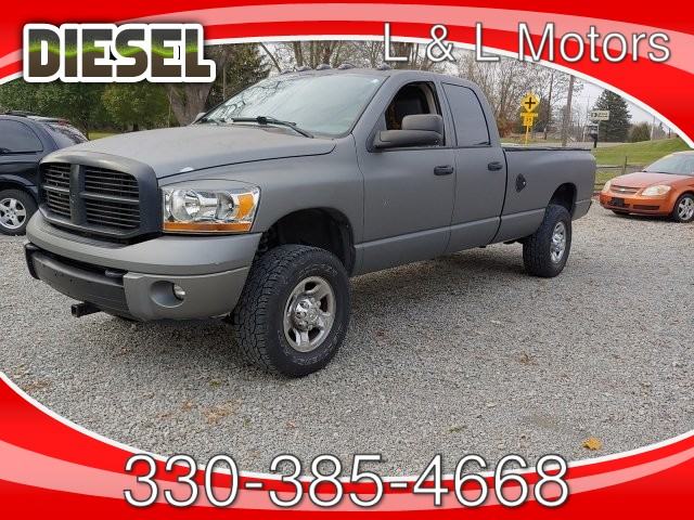 2006 Dodge Ram 2500 Laramie Quad Cab 4WD 4-Speed Automatic